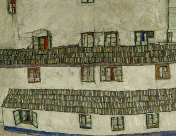 Old Houses - Egon Schiele