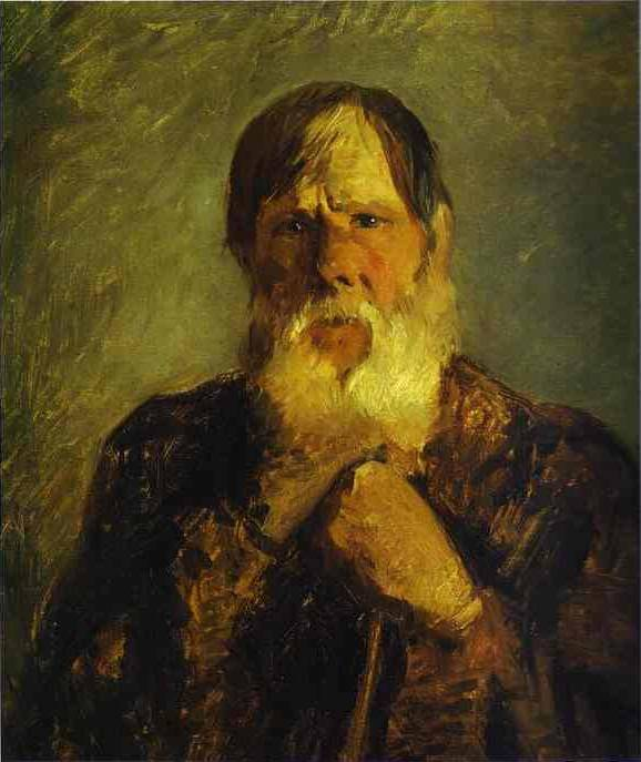 Old Peasant - Nikolay Gay