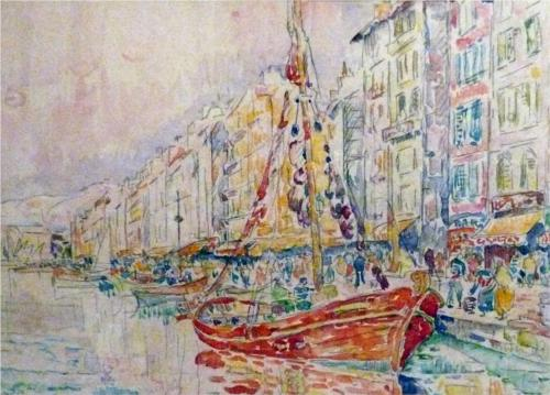 Old Port of Marseille - Paul Signac