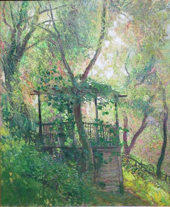 Old Summer House - Guy Rose