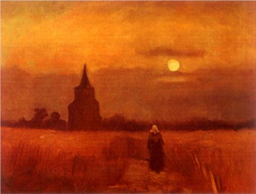 Old Tower in the Fields - Vincent Van Gogh