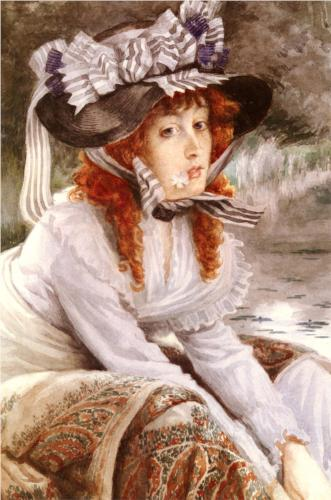 On the River - James Tissot