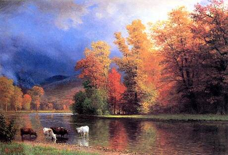 On the Saco - Albert Bierstadt