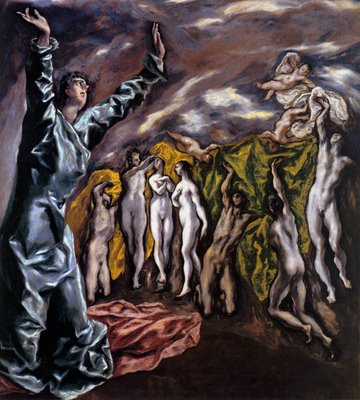 Opening of the Fifth Seal - El Greco