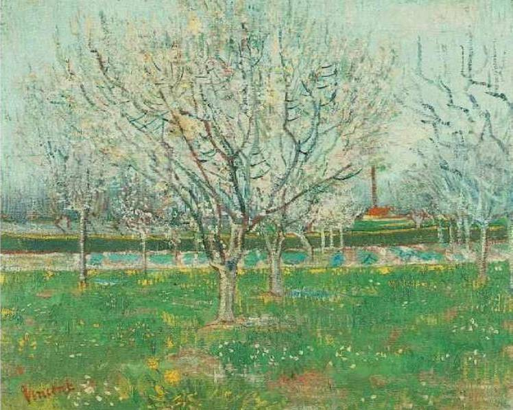 The Orchard - Vincent van Gogh