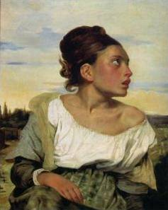 Orphan Girl at the Cemetery - Eugene Delacroix