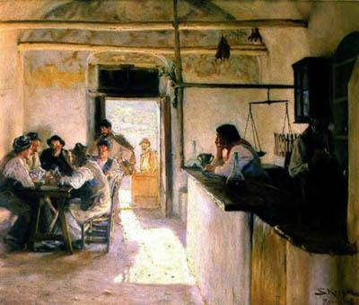 Osteria Ravello Italy - Peter Severin Kroyer