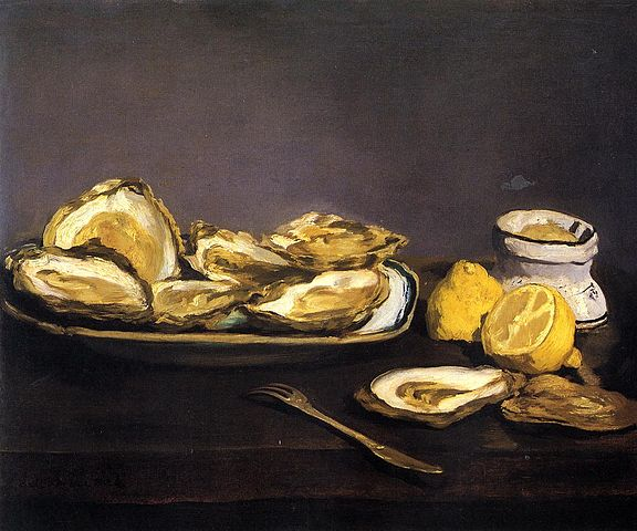 Oysters - Edouard Manet