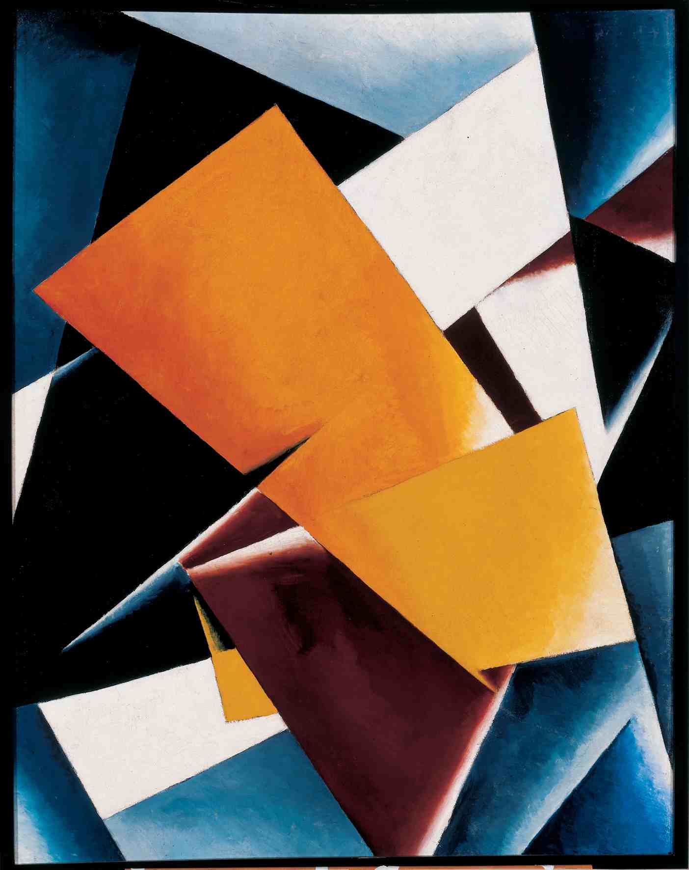 Painterly Architectonic 1918 - Lyubov Popova