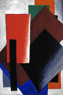 Painterly Architectonic 1916 - Lyubov Popova