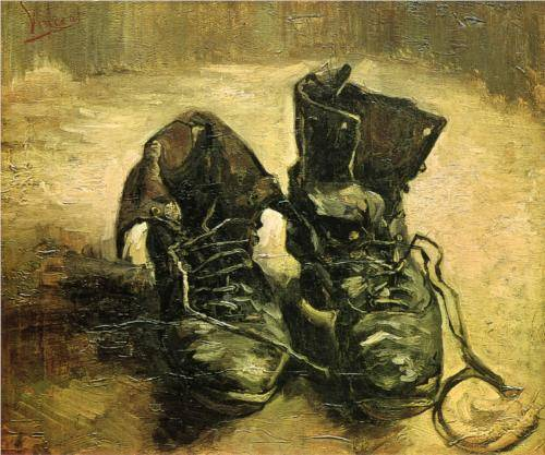 Pair of Shoes II - Vincent Van Gogh