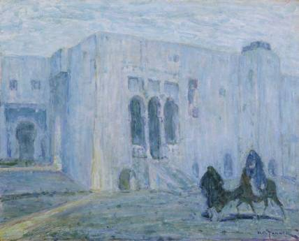 Palace of Justice, Tangiers - Henry Ossawa Tanner