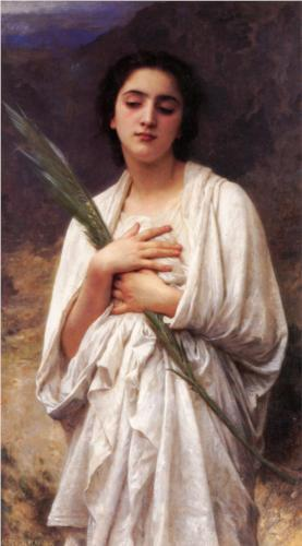 Palm Leaf - William Adolphe Bouguereau