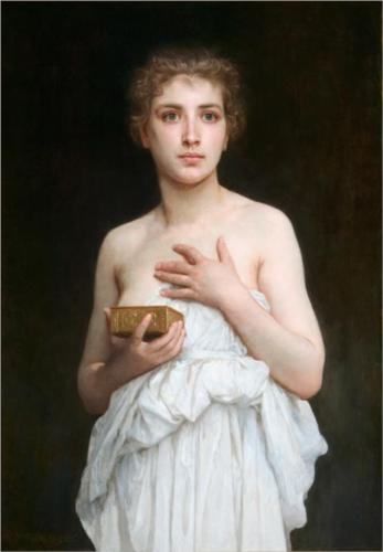 Pandora - William Adolphe Bouguereau