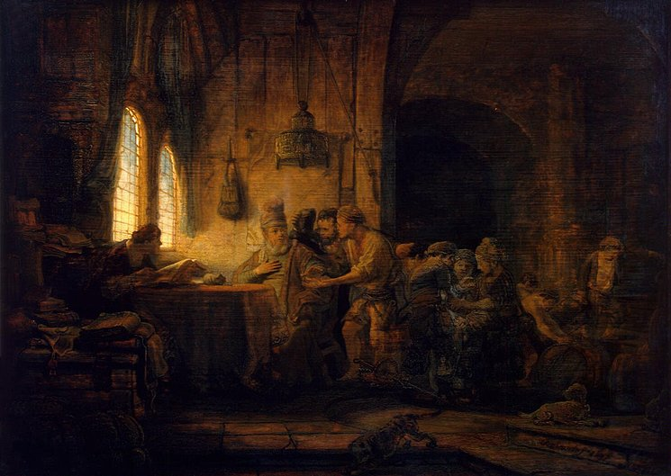 Parable of the Laborers in the Vineyard - Rembrandt van Rijn