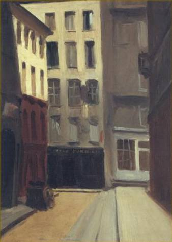 Paris Street - Edward Hopper
