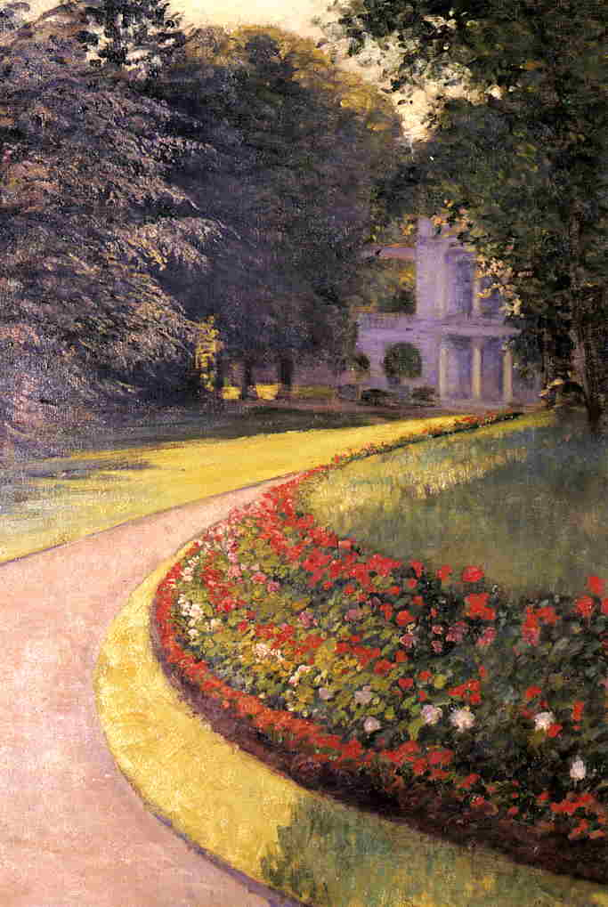 Park at Yerres - Gustave Caillebotte