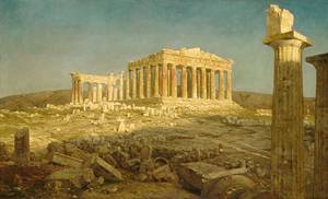 Parthenon - Frederic Edwin Church