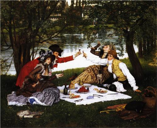 Partie Carree - James Tissot