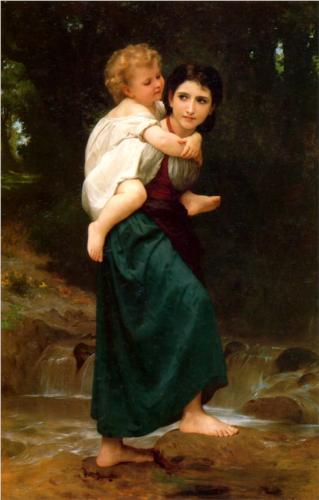 Passage Gue - William Adolphe Bouguereau