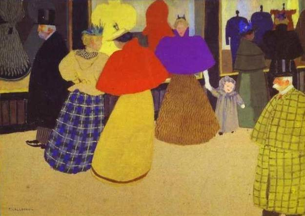 Passers By - Felix Vallotton