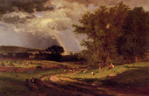 Passing Shower - George Inness