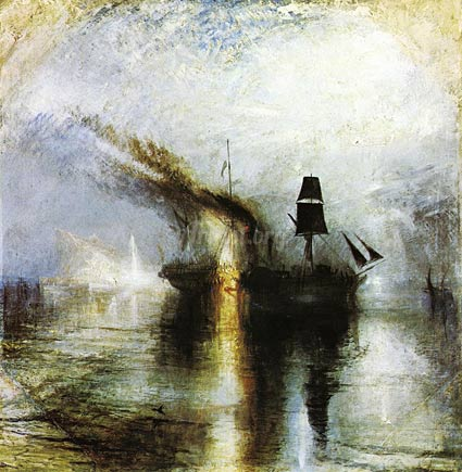Peace: Burial at Sea - Joseph Mallord William Turner