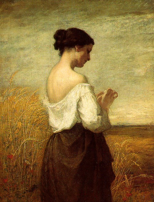 Peasant Girl - William Morris Hunt