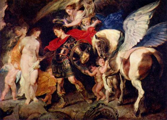 Perseus and Andromeda - Peter Paul Rubens