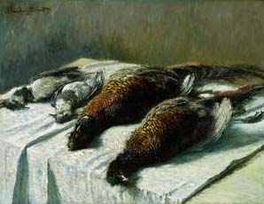 Pheasants & Plovers - Claude Monet