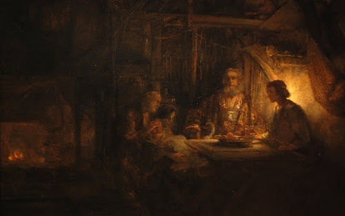 Philemon and Baucis - Rembrandt van Rijn