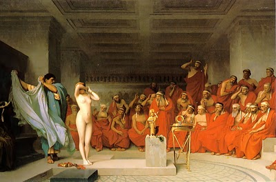 Phryne before the Areopagus - Jean Leon Gerome