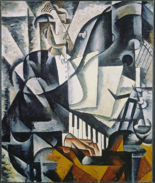 The Pianist - Lyubov Popova