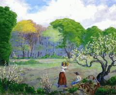 Picking Flowers - Paul Ranson