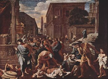 Plague at Ashdod - Nicolas Poussin