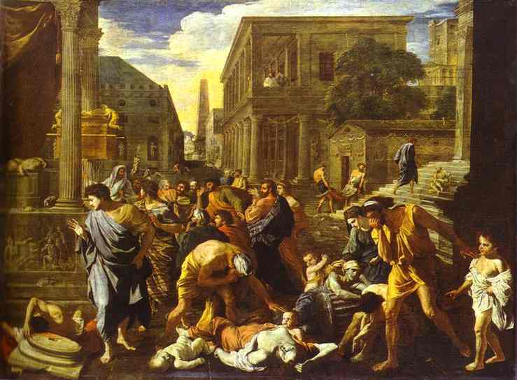 Plague of Ashdod - Nicolas Poussin