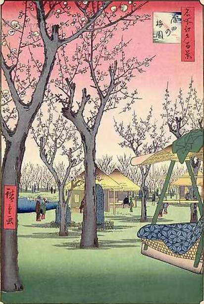 Ando Hiroshige Painting Reproductions For Sale Canvas