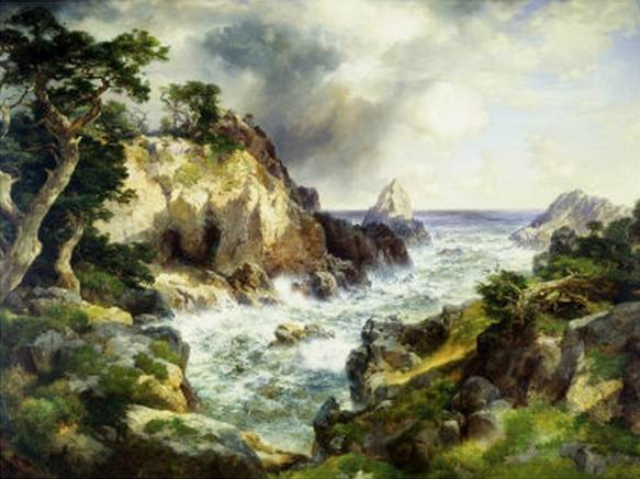 Point Lobos Monterey California - Thomas Moran
