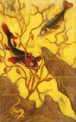 Poissons and Crustaces - Paul Ranson