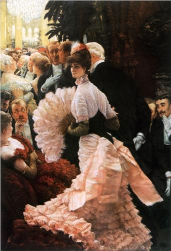 Political Lady - James Tissot