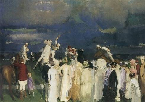 Polo Crowd - George Bellows