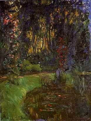 Pond at Giverny - Claude Monet