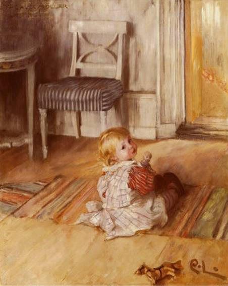 Carl Larsson Painting Reproductions For Sale Canvas Replicas