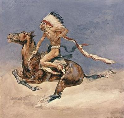 Pony War Dance - Frederic Remington