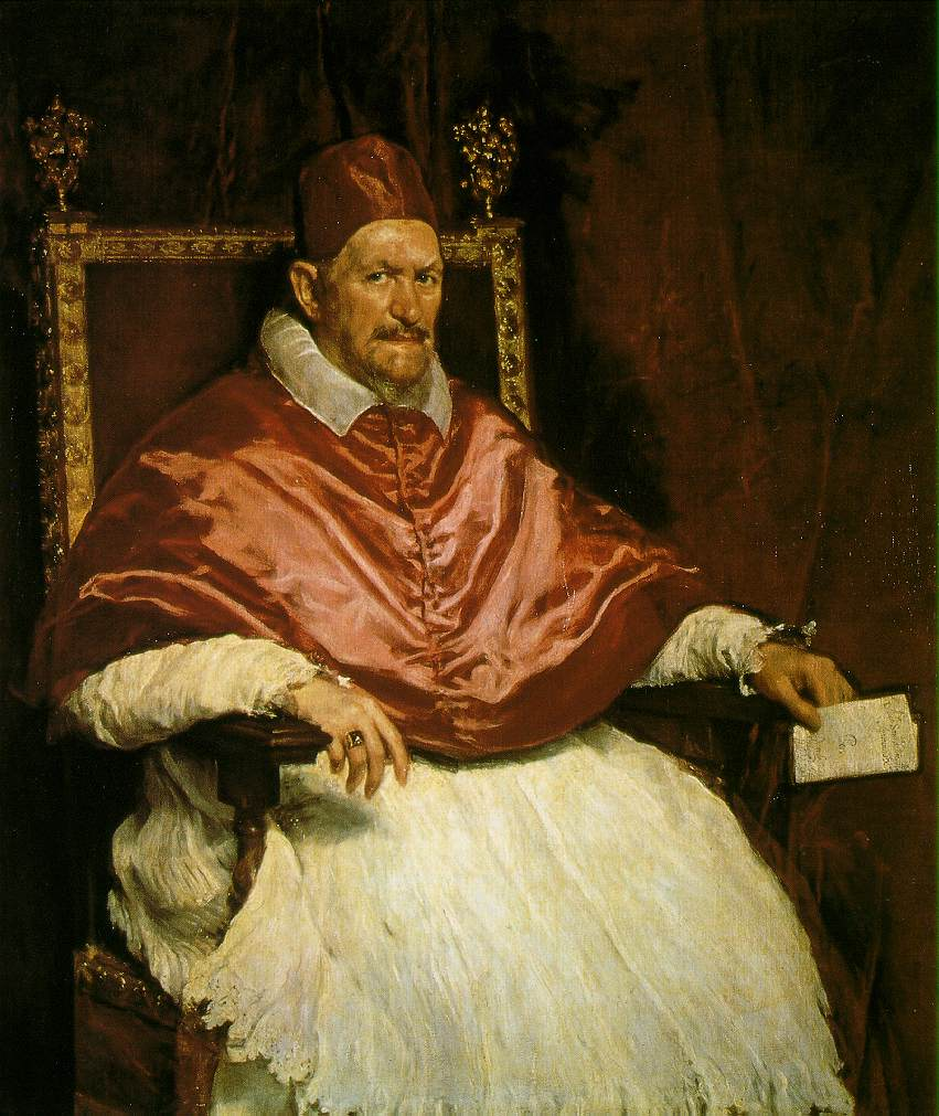 Pope Innocent X - Diego Velazquez