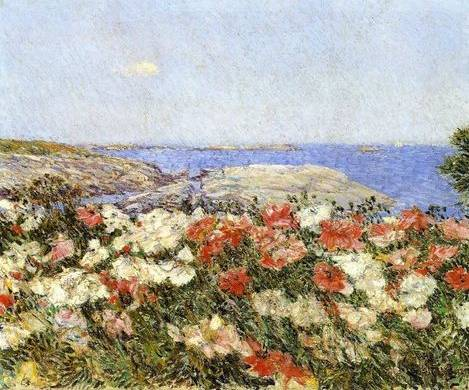 Poppies, Isles of Shoals - Childe Hassam