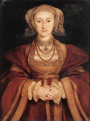 Portrait of Anne of Cleves - Hans Holbein