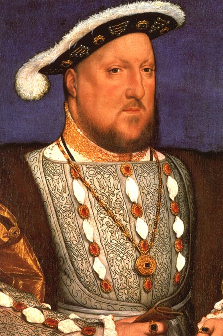 Portrait of Henry VIII - Hans Holbein