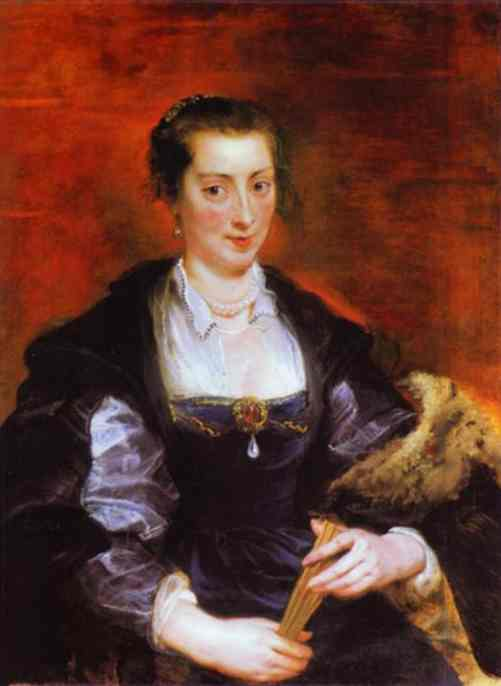 Portrait of Isabella Brant - Peter Paul Rubens