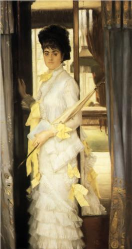 Portrait of Miss Lloyd - James Tissot